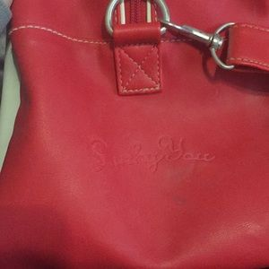 Lucky Brand Bags - Lucky brand retro looking duffle